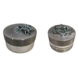 bouchon coupleur à visser din aluminium