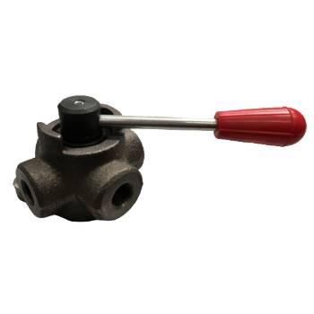 Vanne déviateur hydraulique manuel 4 voies