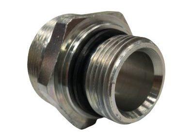 Union simple gaz cylindrique avec joint or