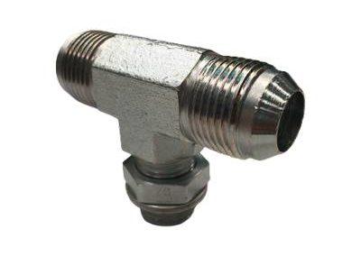 Adaptateur TE orientable male JIC x male gaz CYL + OR